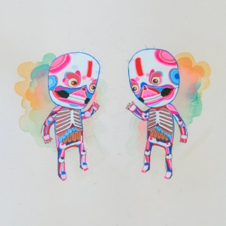 BAS Illustration gallery Cream Skeleton 2