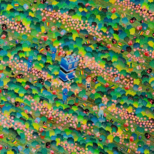 BAS Illustration original art: Forest Collection 18x24 Print 3
