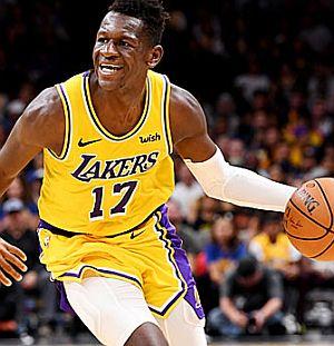 38f691e71 Für Isaac Bonga (Foto re.) bei den Los Angeles Lakers erfüllte sich in der  vergangenen Woche ein weiterer Traum  Beim 111 88 bei den Memphis Grizzlies  kam ...