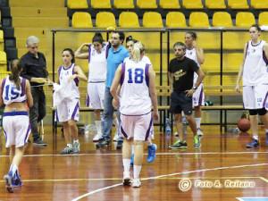 Time out chiamato da coach Porchi (foto A. Reitano)