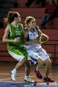 Roberta Scrima e Christina Grima, mvp della partita (foto Giuseppe Maugeri)