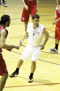 Pietro Marzo durante la gara-2 in semifinale play-off DNC (foto Valentino Criscione)