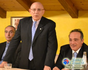 Sangiorgio, Cicero e Aleo alla presentazione (foto R. Quartarone)