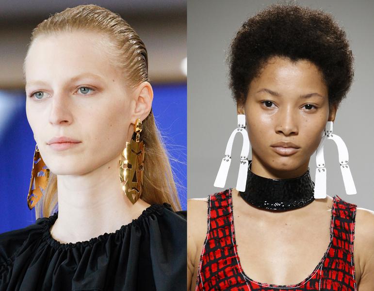 art earrings jewelry trend 2017