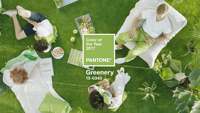 Greenery - color of the year 2017 green