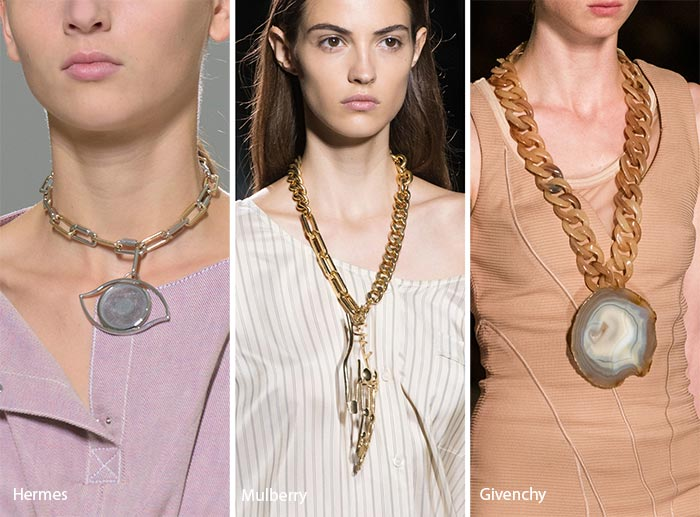 2017 jewelry trends - big necklaces