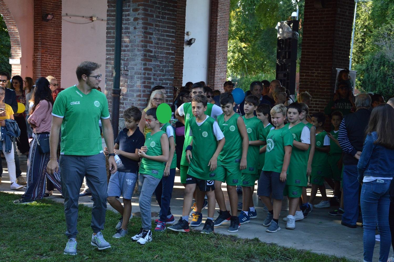 Festa Dello Sport 2017 - Sfilata Basket Rozzano