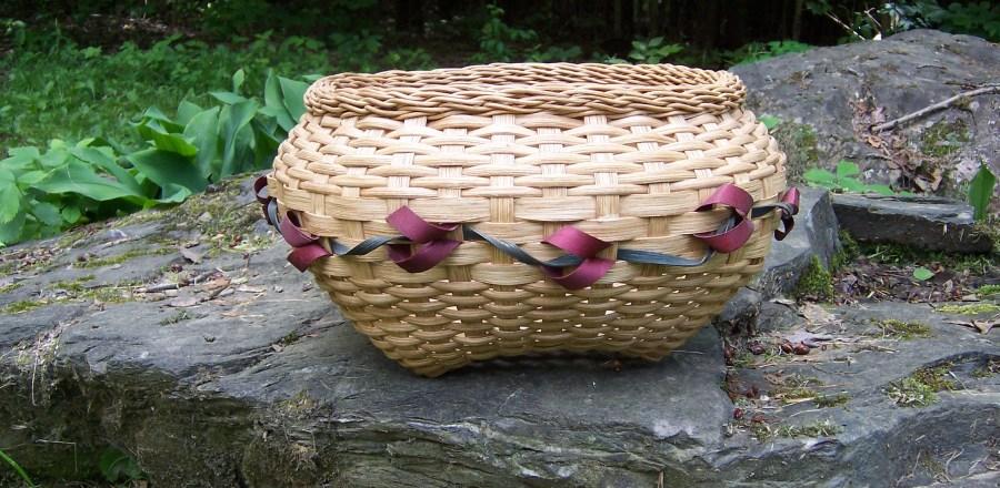 Rose Bowl Basket