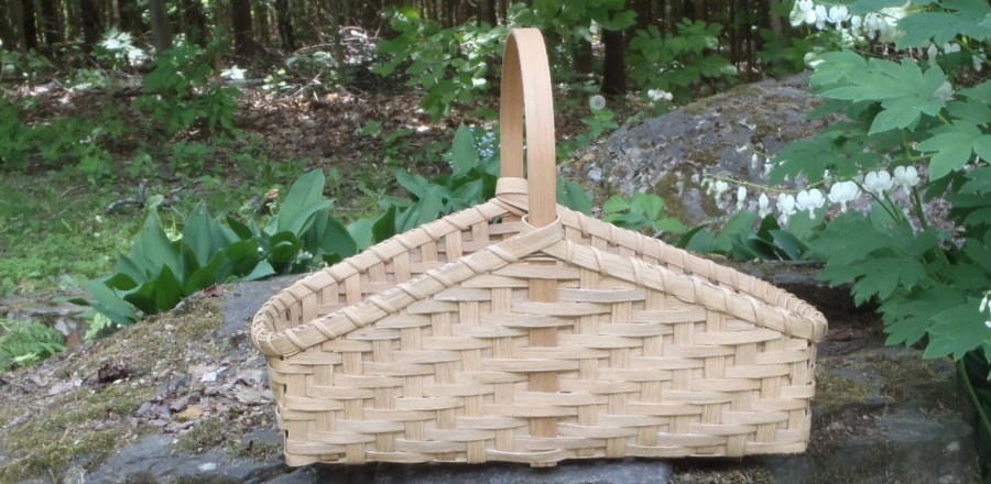 Twill Hearth Basket