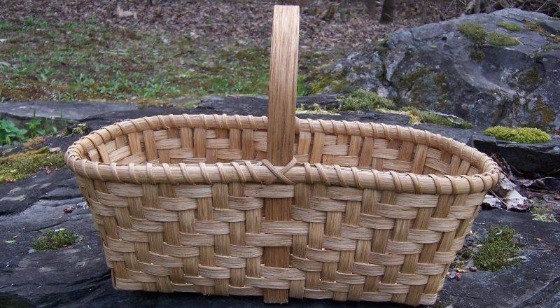 Twill Market Basket