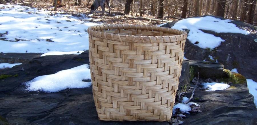 Twill Waste Basket