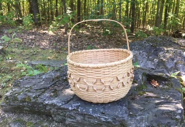 Indian Gathering Basket