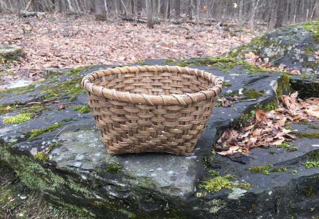Twill and Plain Bowl