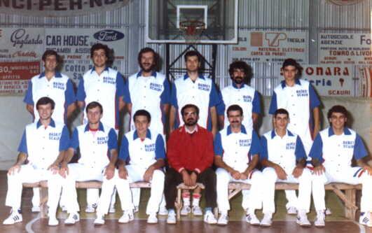 Scauri 1984-1985