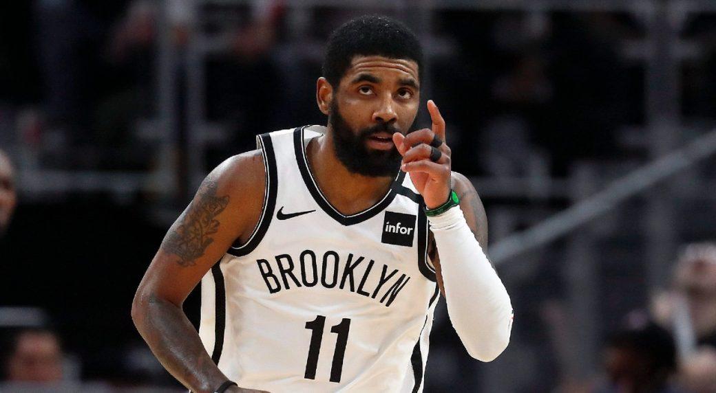 NBA Irving venditore ambulante