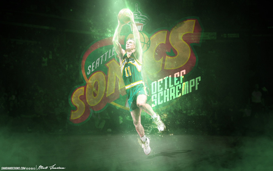 Seattle Supersonics Wallpapers Basketball Wallpapers At