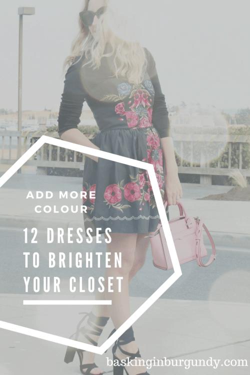 12 Dresses Basking in Burgundy
