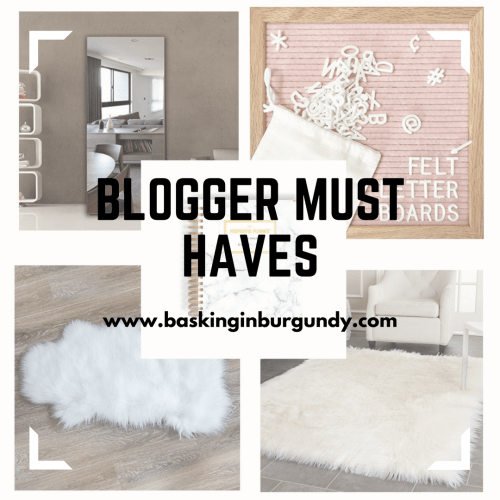 Blogger Must Haves Basking in Burgundy