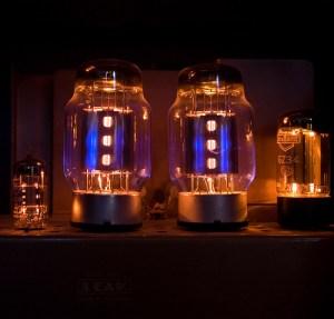 Fotografie elektronek, lamp