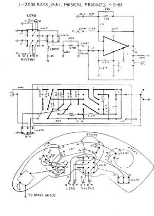 G&L Wiring Diagrams and Schematics