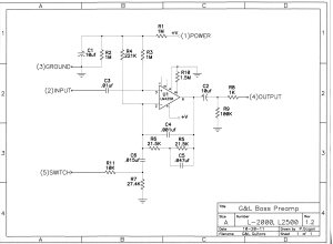 G&L Wiring Diagrams and Schematics
