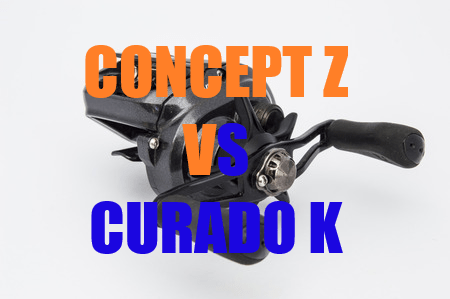 13 Fishing Concept Z vs Shimano Curado K