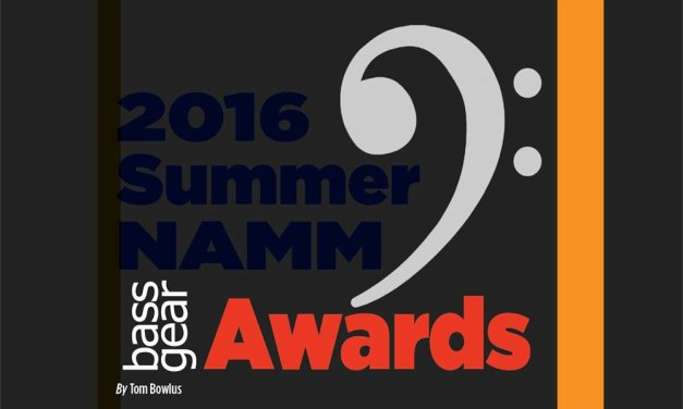 2016 Summer NAMM Show Awards