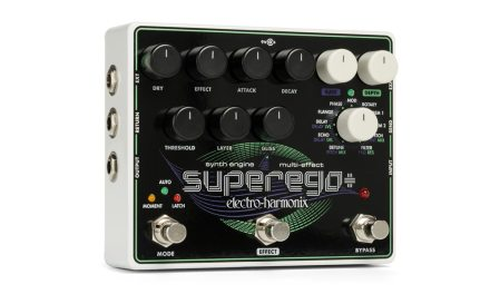 Electro-Harmonix Unveils The Superego+Synth Engine/Multi-Effect