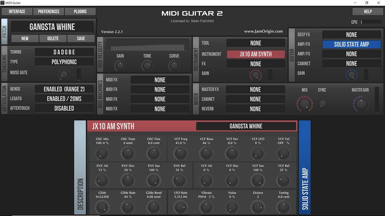 jam origin midi guitar 2 (full + keygen) mac