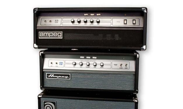 Ampeg V-4B Bass Head and SVT-212AV Bass Cab