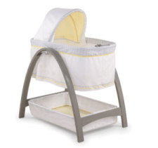 Summer Infant Bentwood Bassinet with Motion