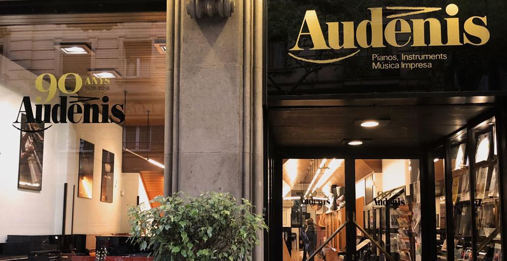 audenis librería musical barcelona