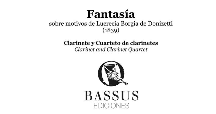 Fantasía de Antonio Romero y Andía para cuarteto de clarinetes