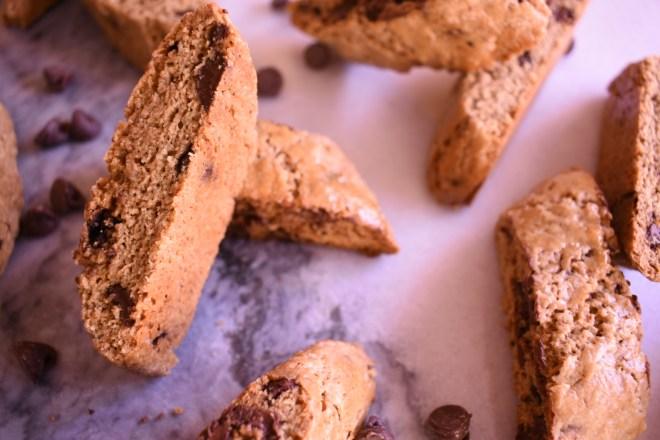 Espresso Chocolate Chip Biscotti Recipe