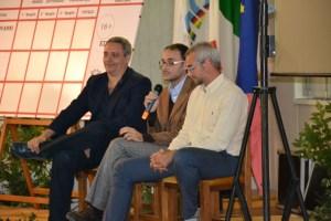 I tre autori vincitori