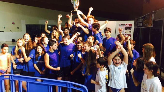 """Primo posto per Swim Project meeting nuoto """"Città di Bastia"""" Vittoria anche per il gruppo master al campionato regionale ad Umbertide"""