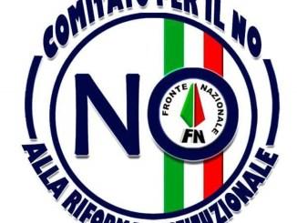No alla riforma, gazebo informativo a Bastia Umbra, Fronte Nazionale Umbria