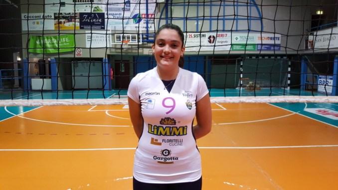 Giulia Patasce confermata al Trevi Volley, serie B1