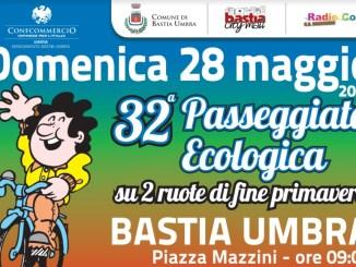 Passeggiata ecologica in bicicletta di fine primavera a Bastia Umbra