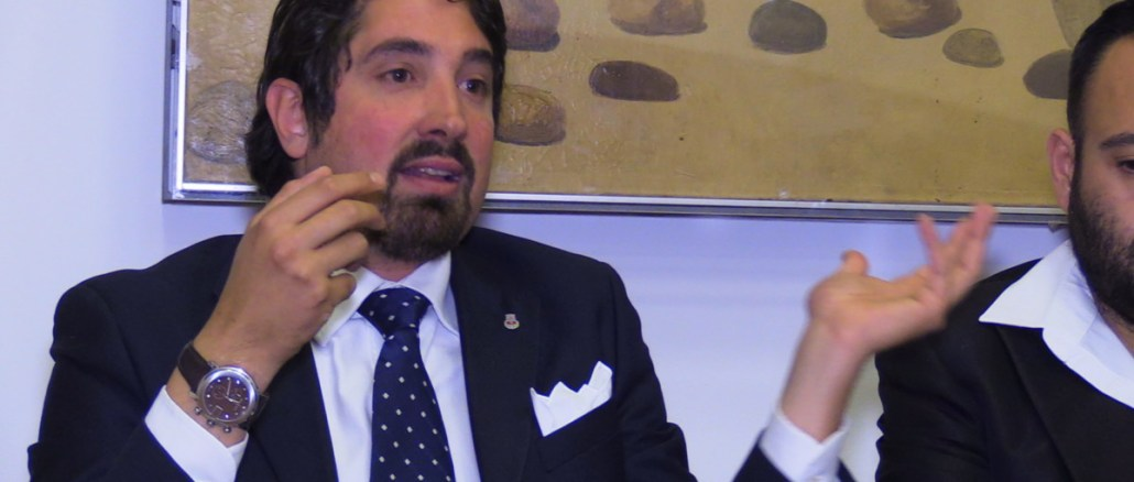 Filiberto Franchi, candidato per Forza Italia, ringrazia tutti