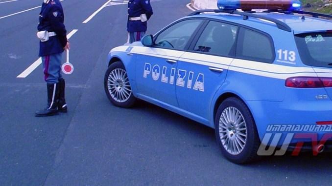 Incidente sulla 75 Centrale Umbra a Bastia, auto contro camion, un ferito