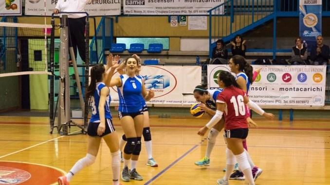 Volley, Sperandio anti-scaramanzia, Bastia rimonta Tavernelle