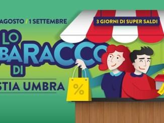 Lo Sbaracco tre giorni di super saldi nei negozi di Bastia Umbra
