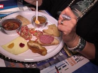 Palio de San Michele, Gara gastronomica alla taverna del Rione Portella