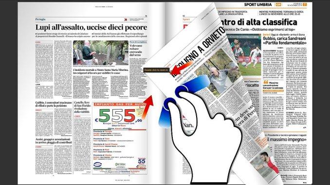 Rassegna stampa locale di Bastia Umbra e dintorni del 18 novembre 2018