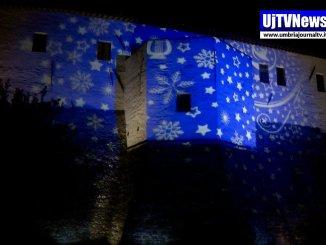 Bastia Umbra, suoni, colori e luci di Natale, video