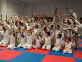 Ospedalicchio, Dragoni karate Cus Perugia, passaggio di cintura