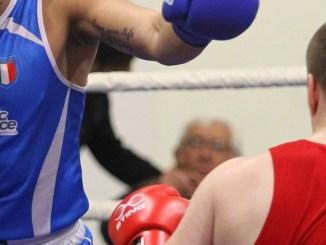 Pugilato Italia Francia a Bastia Umbra, boxe internazionale al palazzetto
