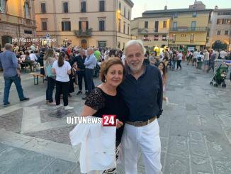Il sindaco Paola Lungarotti, giunta pronta per lunedì o martedì. E' festa in Piazza