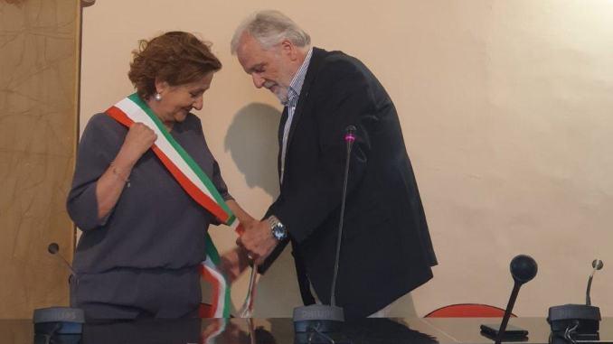 Bastia, proclamazione ufficiale del Sindaco Paola Lungarotti